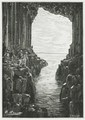 Fingal's Cave Isle of Staffa from Jules Verne: Le Rayon Vert<br/><p class=&quot;copy&quot;>Uploaded by <a href=&quot;/user/10&quot;>Ed Tervooren</a> [© Copyright may apply] — Classical Composers Database</p>