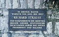 Marquartstein Richard Strauss plaque<br/><p class=&quot;copy&quot;>Uploaded by <a href=&quot;/user/10&quot;>Ed Tervooren</a> [© Copyright may apply] — Classical Composers Database</p>